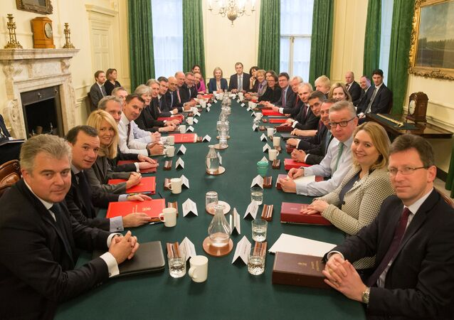 Britain's Prime Minister Theresa May leads her first cabinet meeting of the new year following a reshuffle at 10 Downing Street, London January 9, 2018