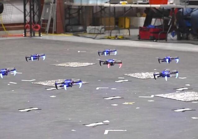 DARPA's Swarming Drones