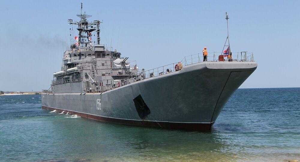 The Yamal large landing craft (File)