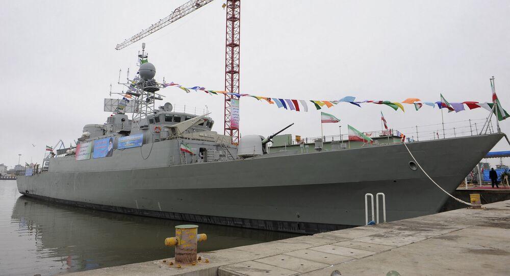 Iran's Jamaran-2 guided missile destroyer (File)