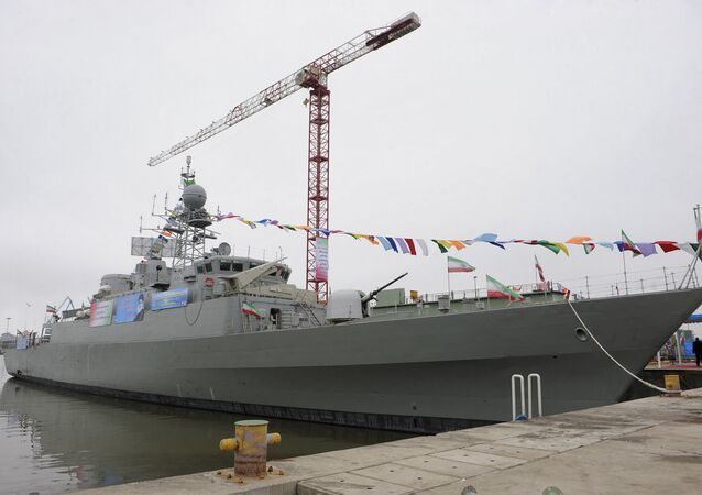 Iran's Jamaran-2 guided missile destroyer (File)