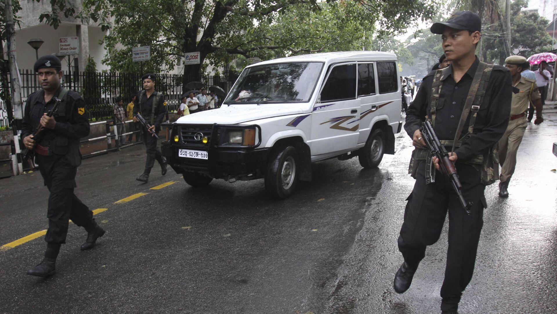 Police officers in Assam. (File) - Sputnik International, 1920, 01.08.2021
