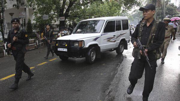 Police officers in Assam. (File) - Sputnik International