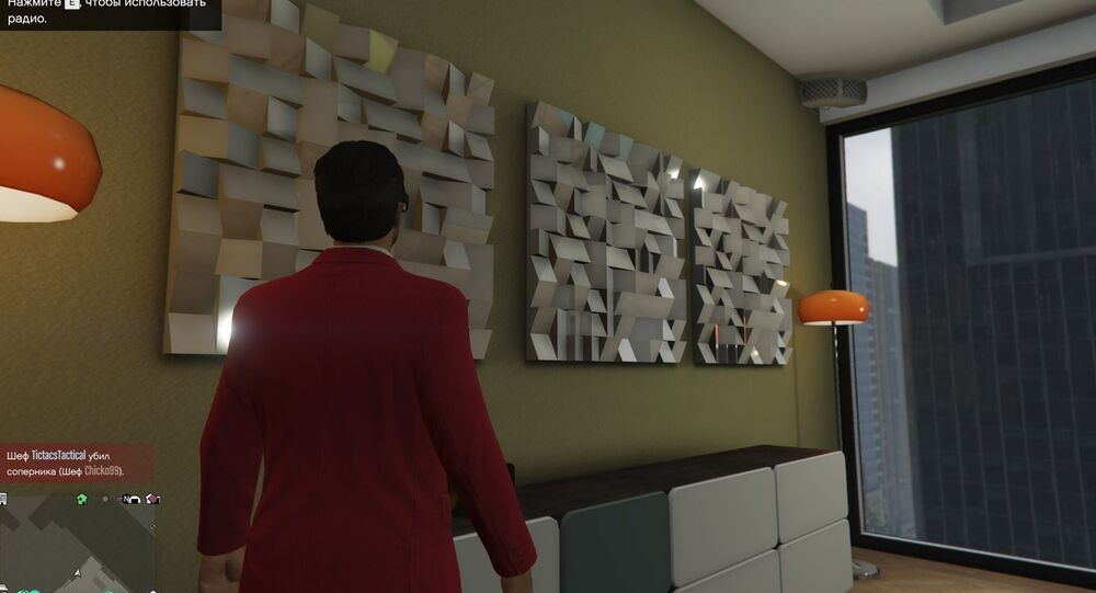 A screenshot of an art object seen by Ivan Belkin in Grand Theft Auto V.