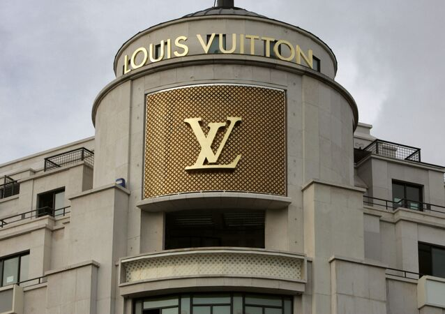 Facade of the Louis Vuitton shop of the Champs-Elysees. (File)