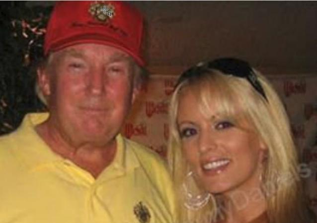 Donald Trump and Adult Film Star Stormy Daniels