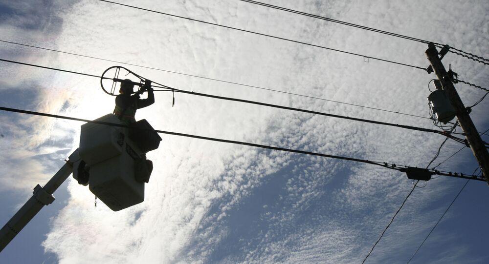 fiber-optic installation in the US