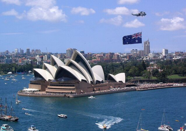 Australia Day, Sydney Harbour