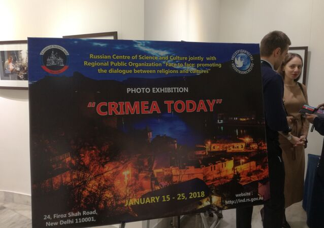 New Delhi Hosts Photo Exhibit on Various Facets of Life in Crimea