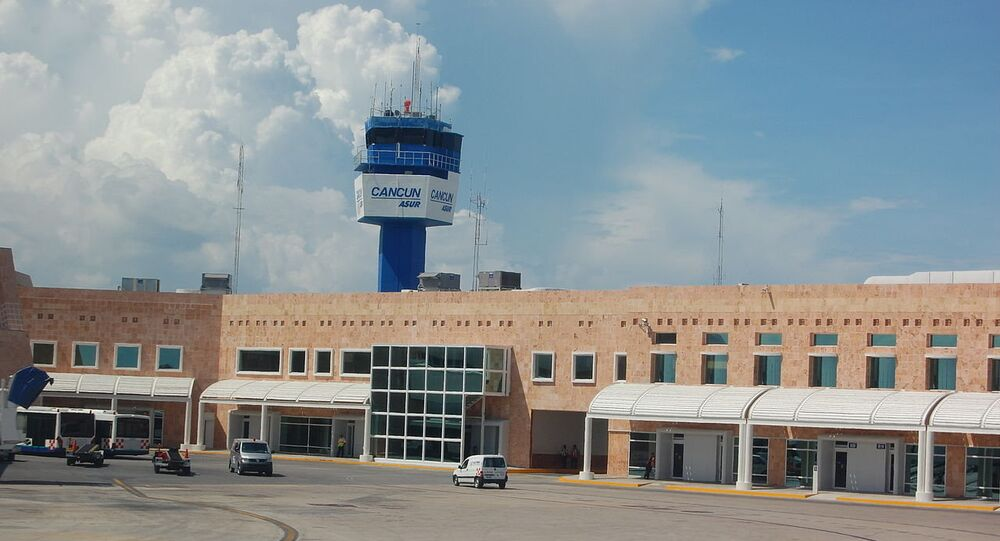 Airport of Cancun