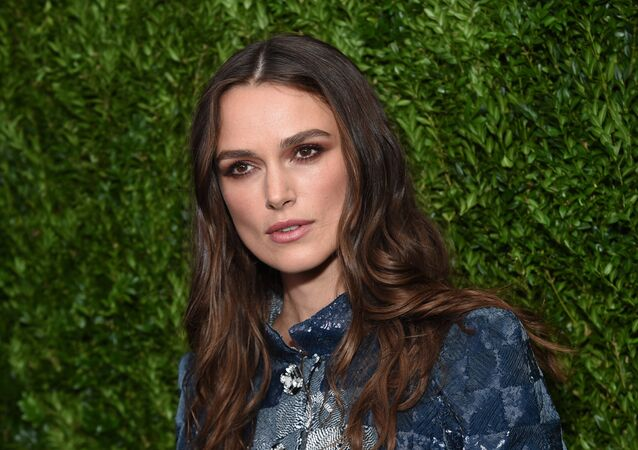 Actress Keira Knightley attends the CHANEL Fine Jewelry Dinner to celebrate the debut of The Jewel Box Boutique at Bergdorf Goodman in New York. (File)