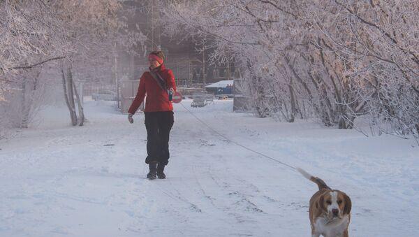Woman walks in the street. (File) - Sputnik International