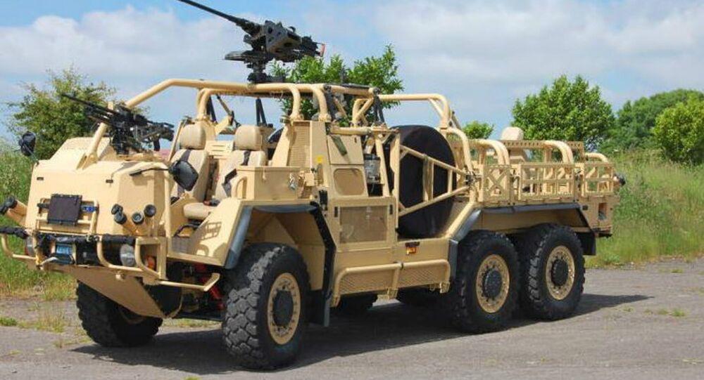 Supacat's HMT Extenda Special Forces Vehicle