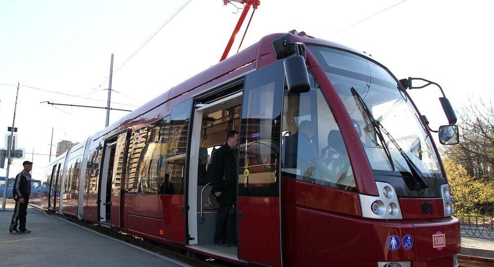 Tramway in Kazan. (File)