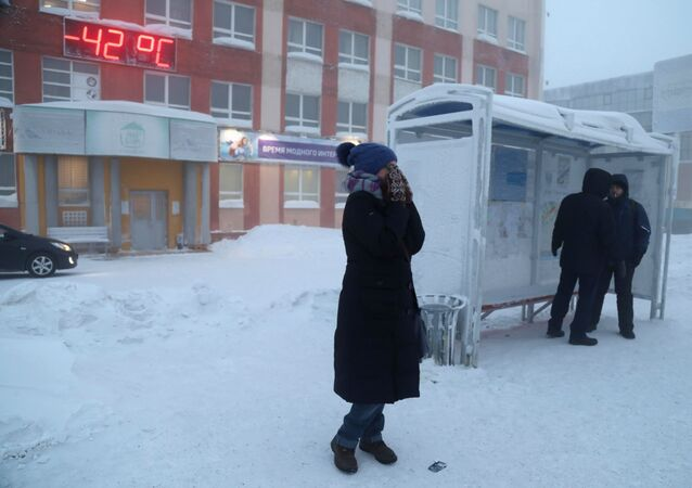 The streets of Norilsk