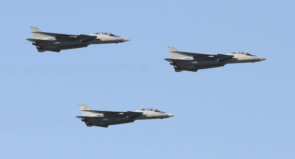 Iranian air force's F-14 fighter jets (File)