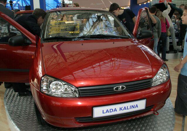 Five-door universal Lada Kalina. (File)