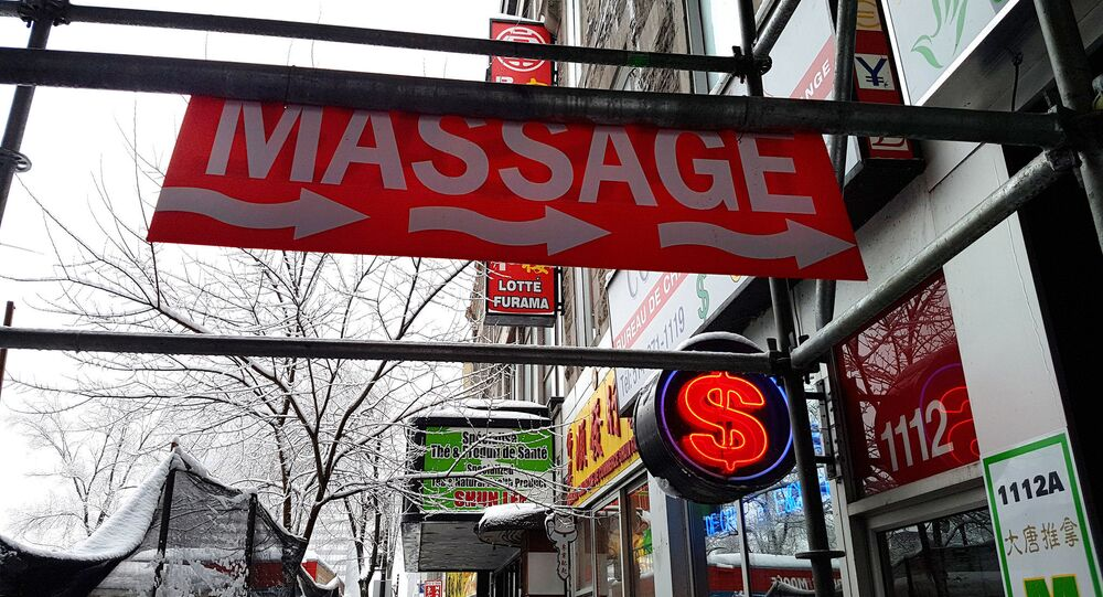 Massage parlor (photo used for illustration purpose)