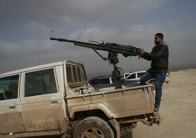 FSA fighters in Afrin, Syria