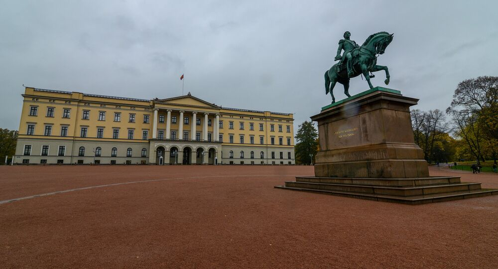 The Royal Palace in Oslo (Slottet)