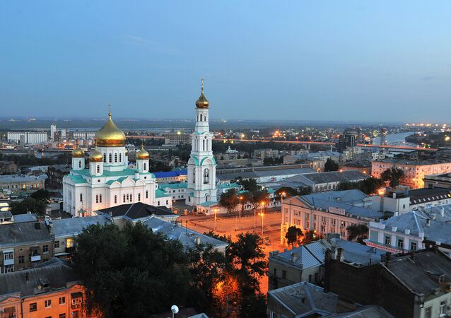 The Rostov Cathedral in Rostov-on-Don. (File)