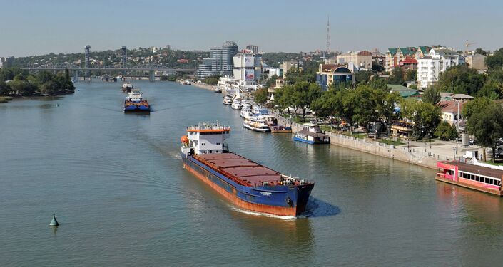 Sea and river vessels on the River Don, Rostov-on-Don. (File)