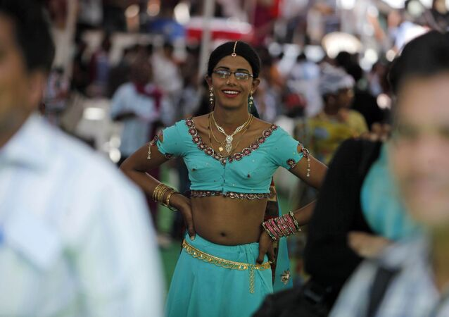 An Indian transgender. (File)
