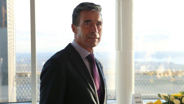 NATO Secretary General Anders Fogh Rasmussen - Sputnik International
