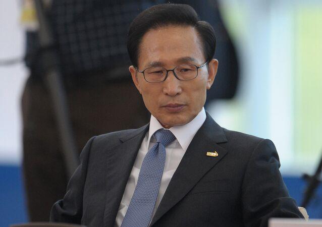 Lee Myung-bak. File photo