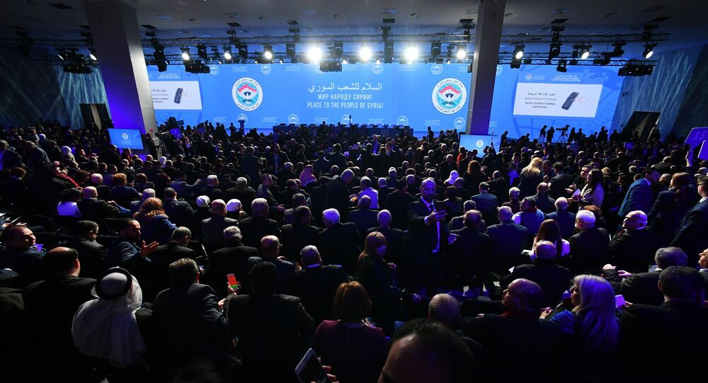 Sochi hosts Syrian National Dialogue Congress