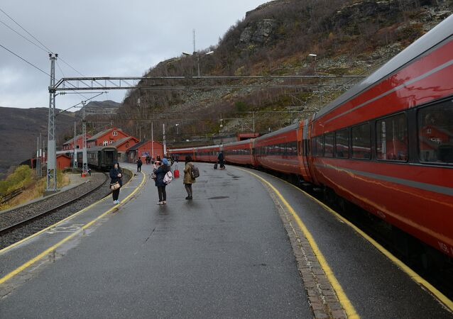 Railroad in Norway