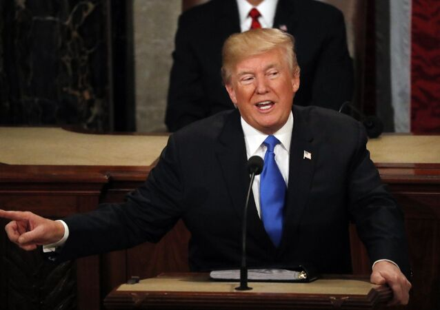 U.S. President Donald Trump delivers his State of the Union address to a joint session of the U.S. Congress on Capitol Hill in Washington, U.S. January 30, 2018
