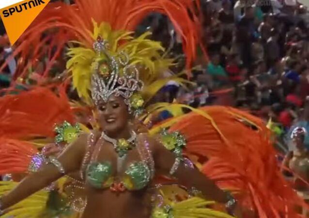Carnival In Paraguay