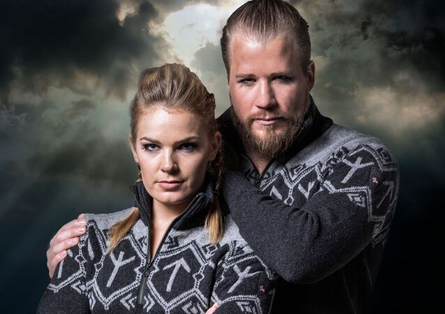 Одежда компании Dale of Norway из коллекции, созданной для членов горнолыжной команды Олимпийской сборной Норвегии