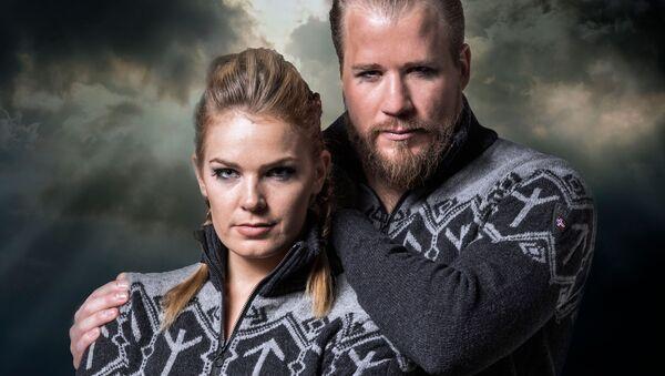 Одежда компании Dale of Norway из коллекции, созданной для членов горнолыжной команды Олимпийской сборной Норвегии - Sputnik International