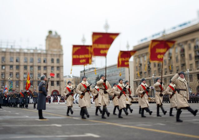 Volgograd Parade for 75th Anniversary of Stalingrad Victory