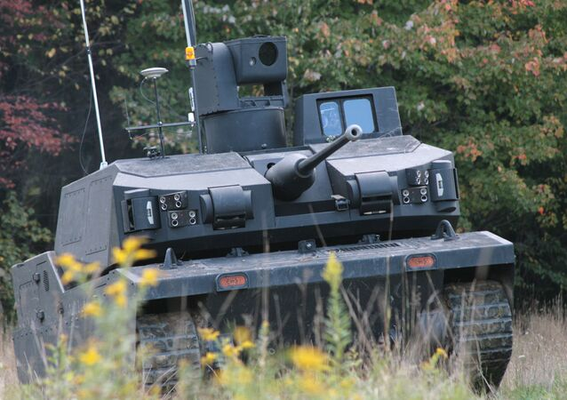 BAE Systems' Armed Robotic Combat Vehicle