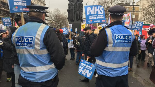 The London march in support of the National Health Service - Sputnik International
