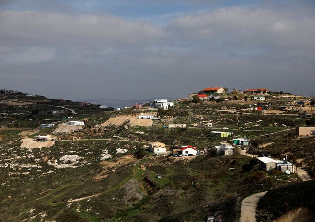 A general view of the Havat Gilad settlement outpost, West Bank January 10, 2018