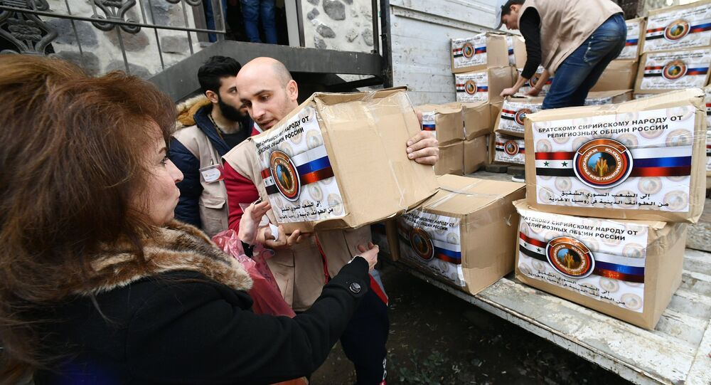 Representatives of different confessions deliver humanitarian aid to Syria from Russia