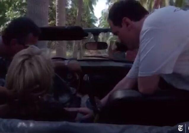 Uma Thurman's Car Crash