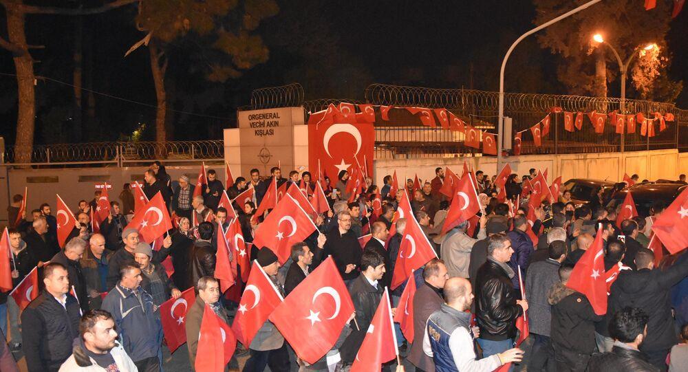 Protests in Izmir, Turkey