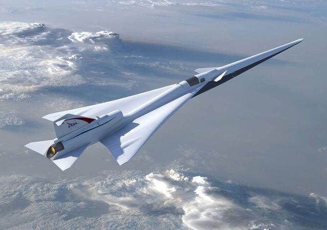 NASA's Quiet Supersonic Jet