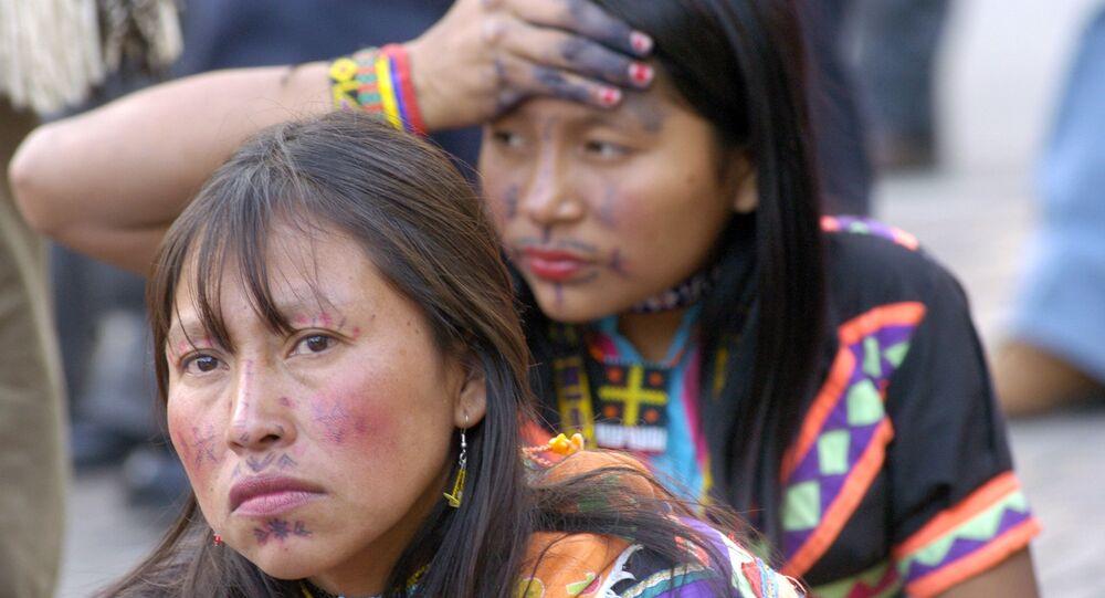 Women of the indiginous Embera tribe. (File)