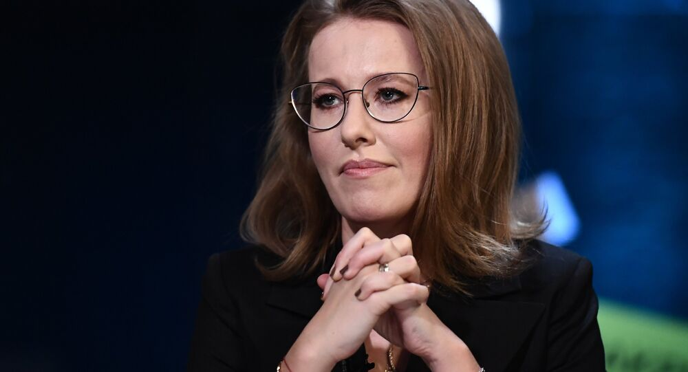 Meeting with Presidential candidate Ksenia Sobchak