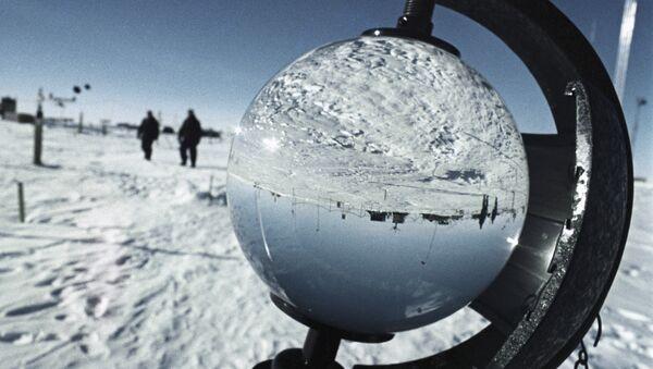 Soviet Antarctic research station Vostok. Founded on December 16, 1957 by V.S. Sidorov. (File) - Sputnik International