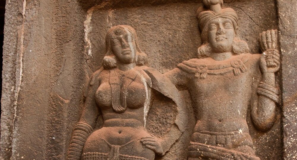Stone carvings. India