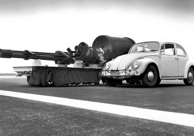 A-10's Gatling Gun