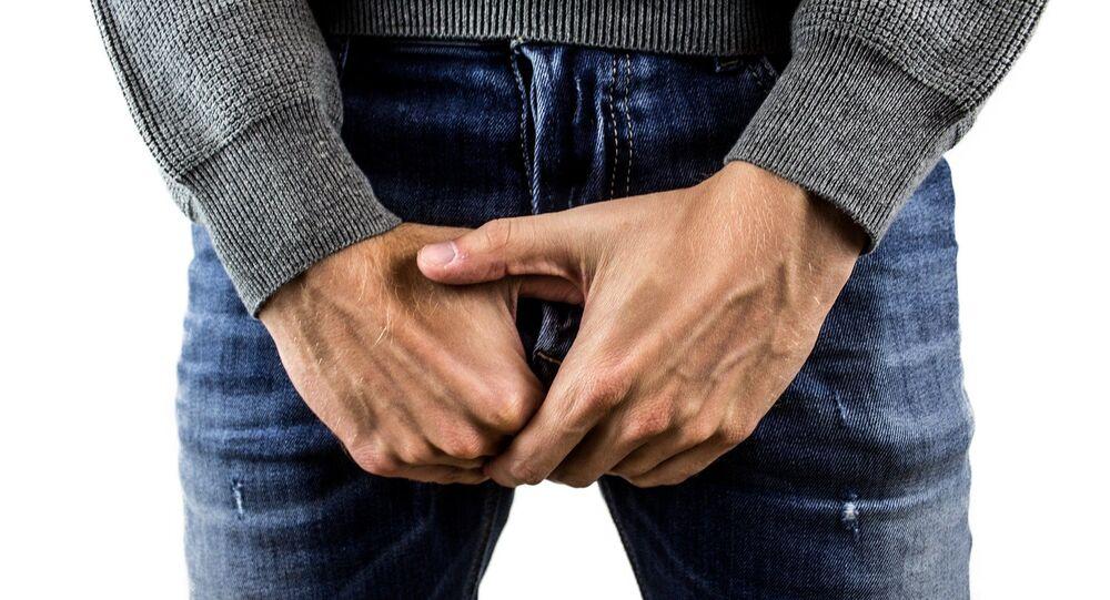 Man jeans