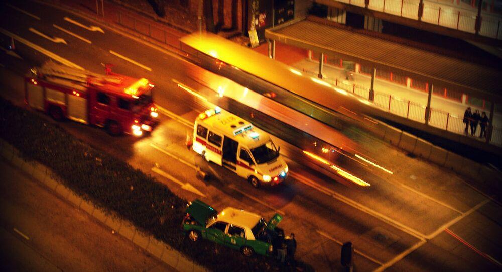Hong Kong  ambulance